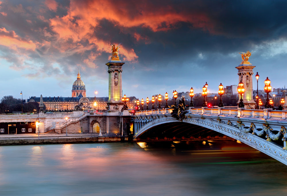 10352 Париж. Легендарный Мост Александра III.